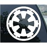 Star Wars Autocollant pour vitre de camion Motif Empire galactique