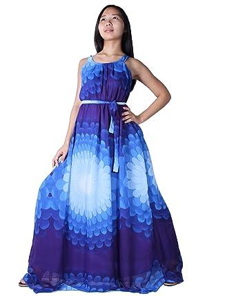 MayriDress Women\'s Maxi Dress Long Summer Floral Plus Size ...