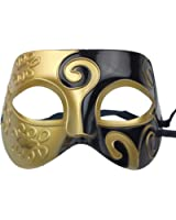2015 halloween mask Half face painting masks realistic silicone masquerade Knight Prince masks japanese mardi gras cosplay party