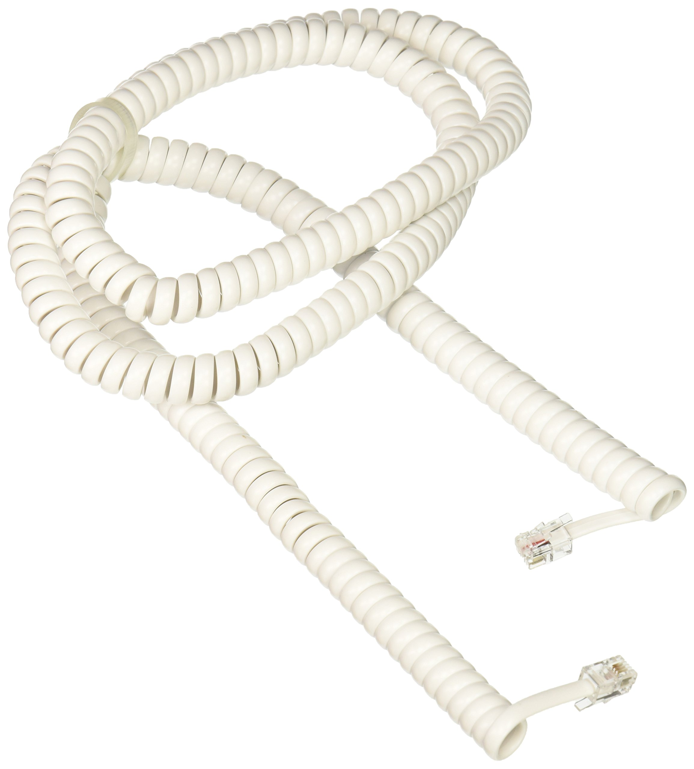 Ge Telephone Handset Receiver Cord Phone Cable Extra Length Home Office 25ft Computers/tablets & Networking