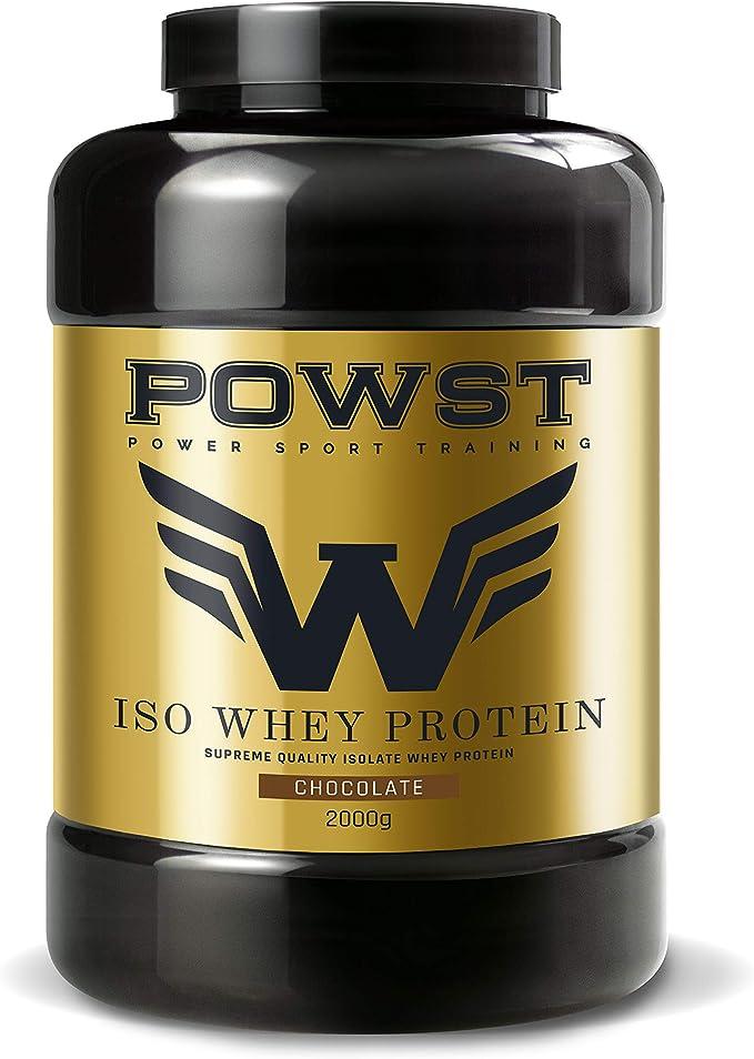 Bote Whey Protein Isolate, aislado de Proteína de Suero de ...