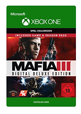 Mafia Iii Digital Deluxe Xbox One Download Code Games