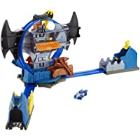 Deals on Hot Wheels City Batman Batcave Track Set
