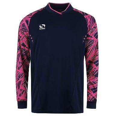 795a6a1524c Sondico Kids Children Pro Goal Keeper Jersey Juniors Long Sleeve T-Shirt  Tee Top Navy/Pink 7-8 (SB): Amazon.co.uk: Clothing