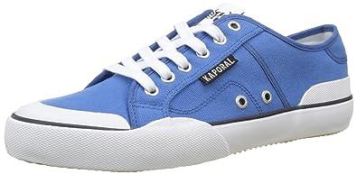 Bucket, Baskets Basses Homme, Bleu (Bleu), 42 EUKaporal