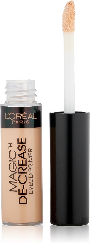 L'Oreal Paris Magic De-Crease Eyelid Primer, 0.19 Ounces by L'Oreal Paris Cosmetics