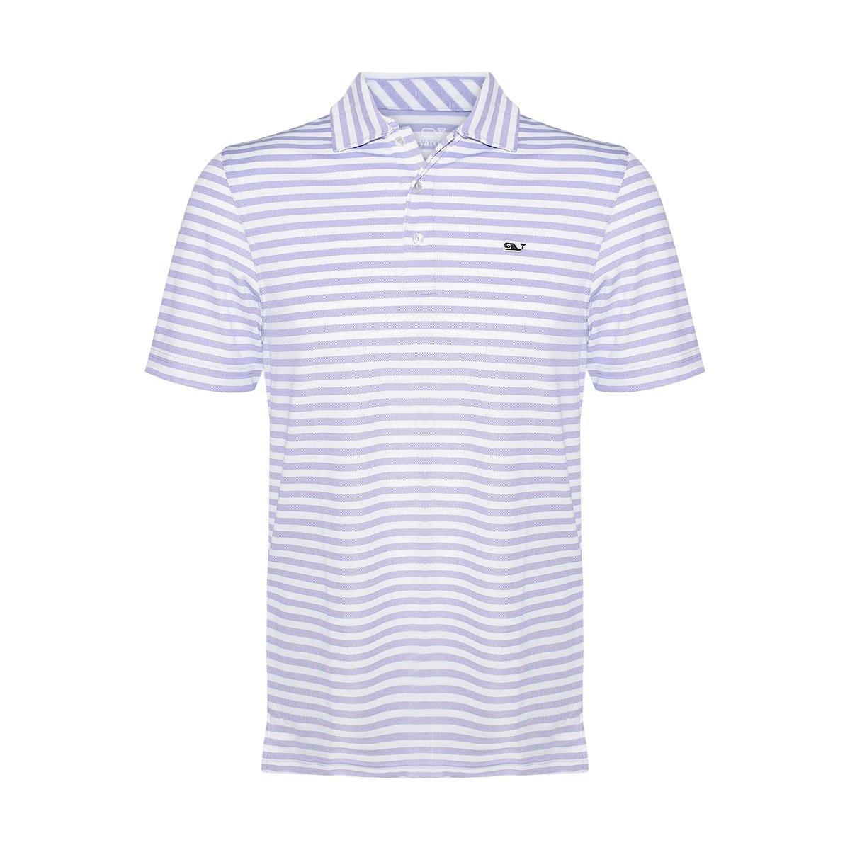 d0cbbfe7 Vineyard Vines Men's Performance Pique Polo Shirt (Thistle, Small) at  Amazon Men's Clothing store: