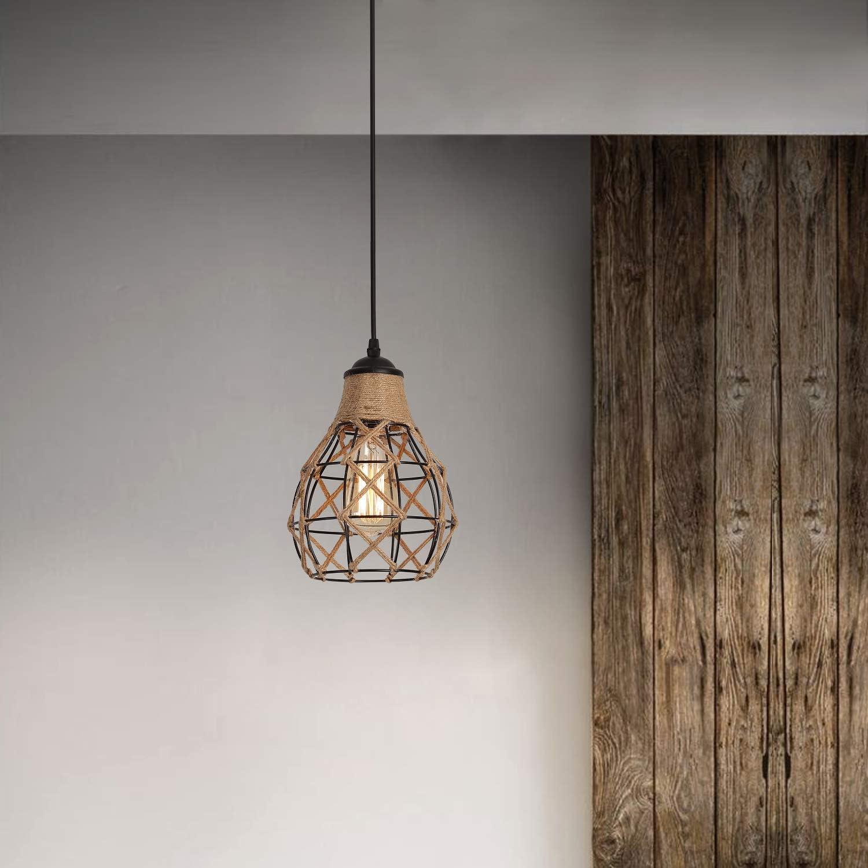 Industrial Woven Pendant Light