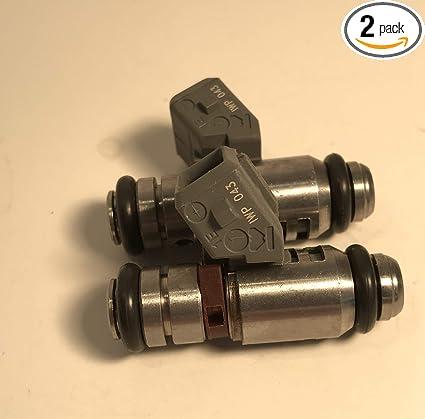 Amazon com: 2# Fuel Injectors for Harley-Davidson 2001-05