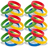 48 Building Block Silicone Bracelets for Birthday