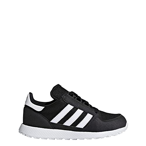 promo code 9a7a9 f348a adidas Kids Forest Grove C Fitness Shoes Black FtwblaNegbás 000 1 UK