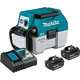 Makita XCV11T 18V LXT Lithium-Ion Brushless Cordless 2 Gallon HEPA Filter Portable Wet/Dry Dust Extractor/Vacuum Kit (5…
