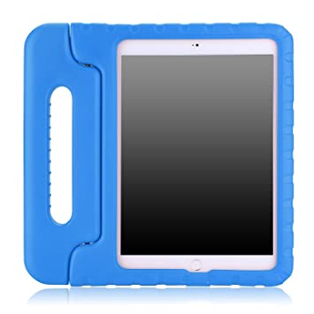 MoKo Apple iPad Air 2 Funda – niños a Prueba de Golpes Mango de Convertible luz Peso súper Protectora con función Atril para Apple iPad Air 2 (iPad 6) ...
