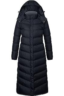 251fd52c79759 Madden Girl Womens Plus Size Long Maxi Puffer Coat Black 3X OPJ105H
