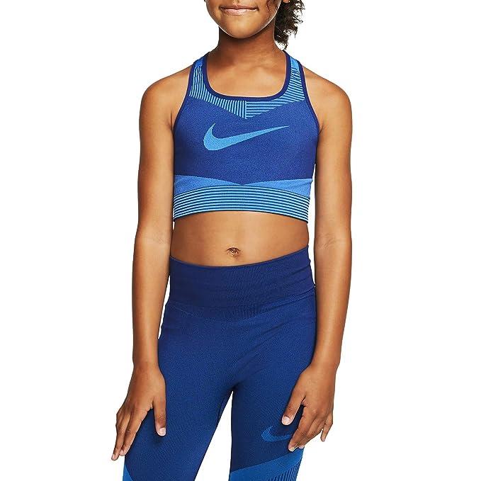 Nike G Nk Fenom Seamless Bra Top, Niñas: Amazon.es: Deportes y ...