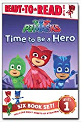 PJ Masks Ready-to-Read Value Pack: Time to Be a Hero; PJ Masks Save the Library!; Owlette and the Giving Owl; Gekko Saves the City; Power Up, PJ Masks!; Race for the Ring Paperback