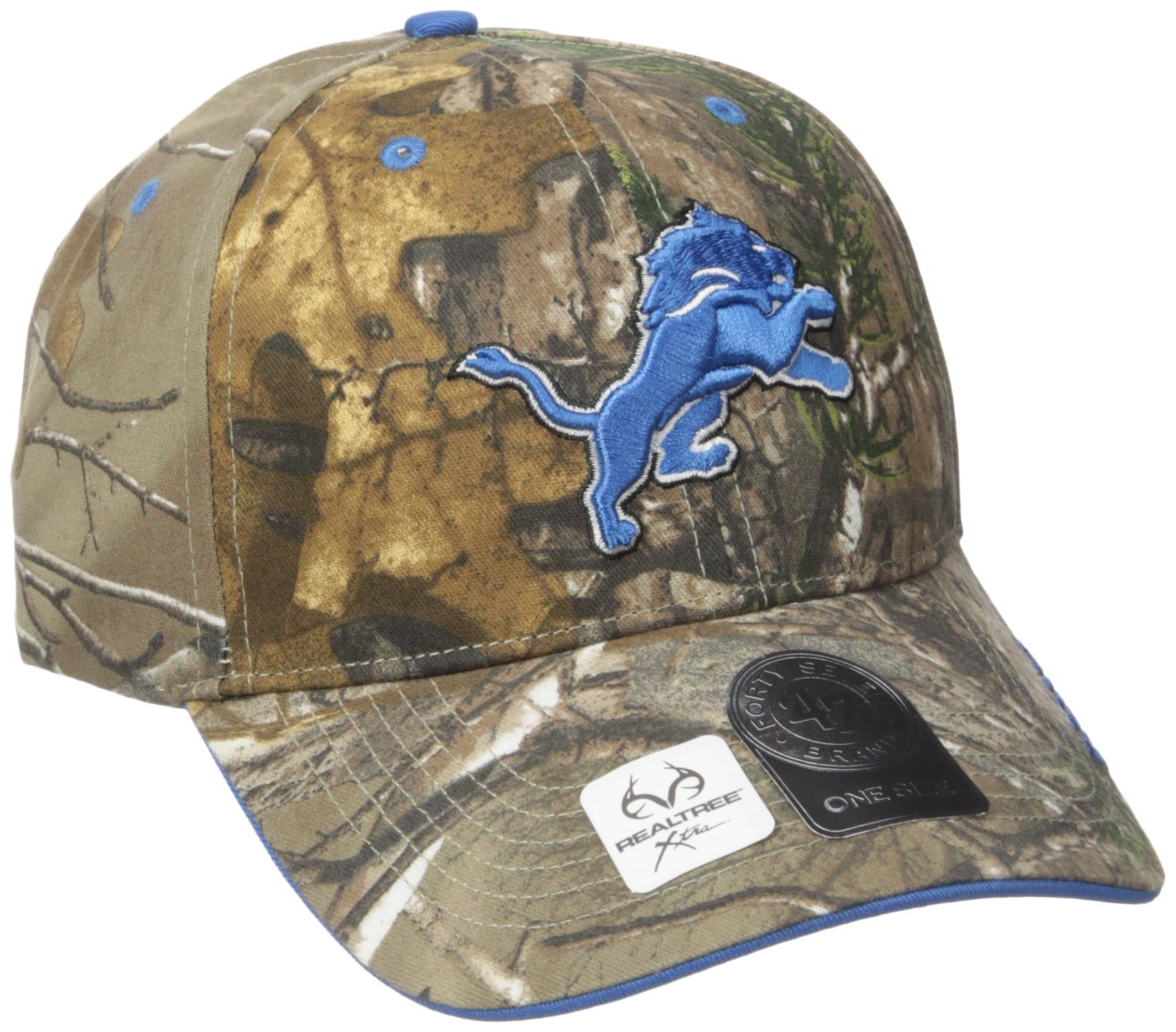 '47 Brand NFL Realtree Frost '47 MVP Adjustable Hat One Size Realtree Camo Twins Enterprise/47 Brand NFL Realtree Frost MVP