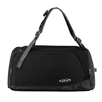 G4Free Lightweight Sports Bag Gym Bag Travel Duffel Backpack Weekend Bag  with Shoe Compartment 382f73f19d3c7