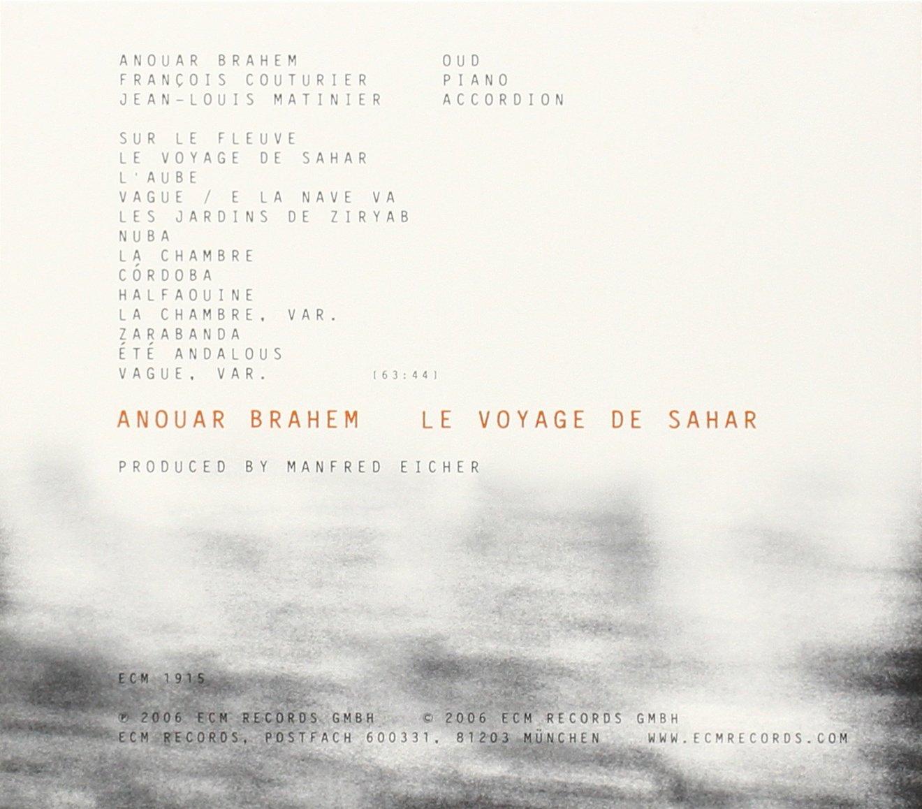 Le Voyage De Sahar by ECM (Image #2)