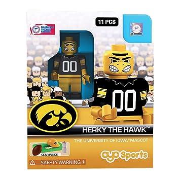 Amazon.com: Herky The Hawk OYO Generation 1 G1 Iowa Hawkeyes NCAA LE ...