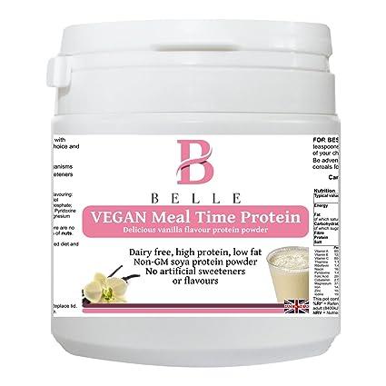 Belle® Vegan Meal time Polvo de proteína de soja - sabor a vainilla Delicious Shake