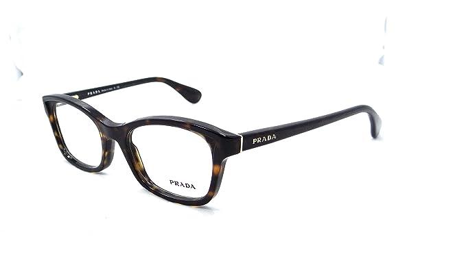 8707a2666463 Prada Rx Eyeglasses Frames Vpr 05p 2au-1o1 52x18 Havana Tortoise Made in  Italy