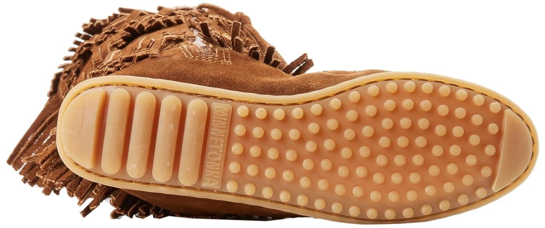 Minnetonka Women's Layer Fringe US|Dusty Boot B0027A7U90 7 B(M) US|Dusty Fringe Brown b02283