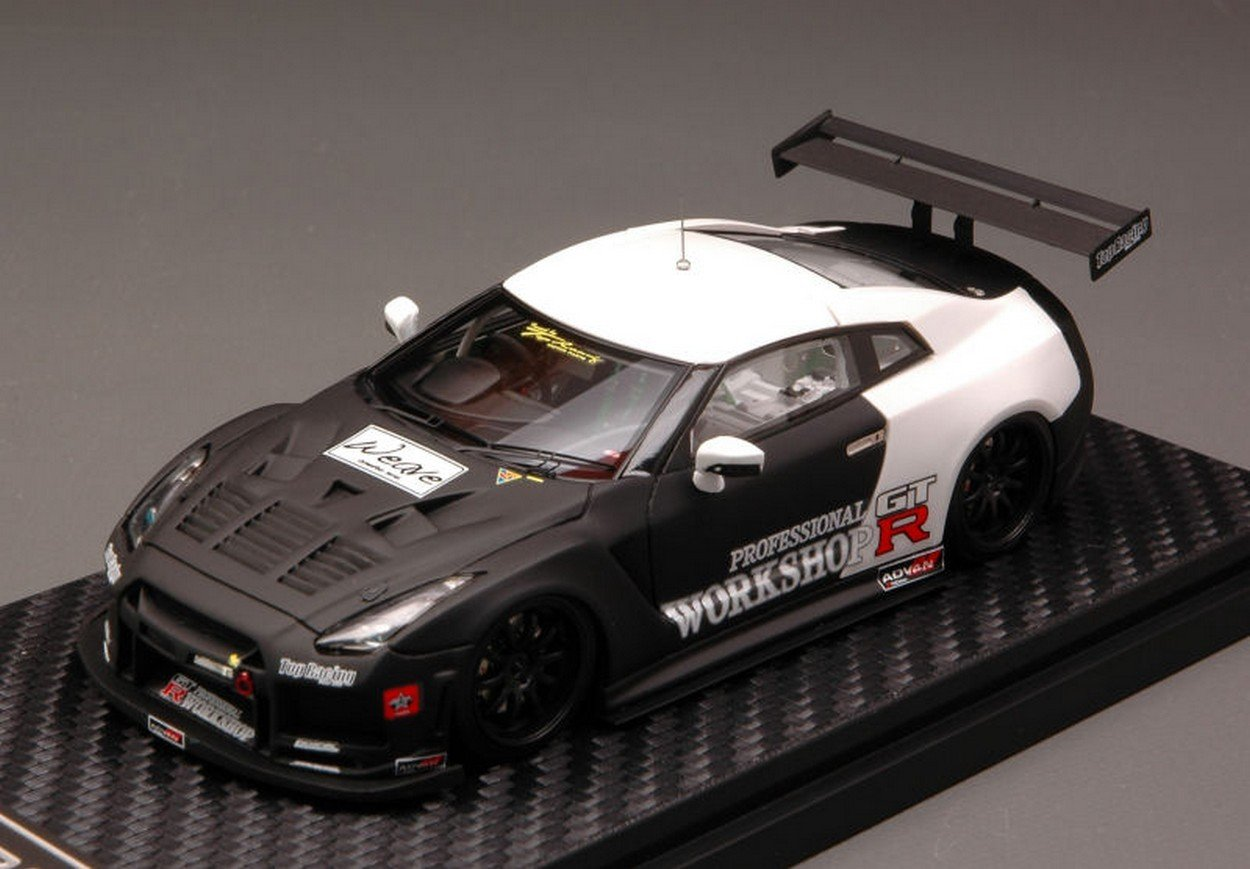 Hpi 1/43 Nissan GT-R R35 TR35 GT800-R 2010 TEST CAR (japan import)