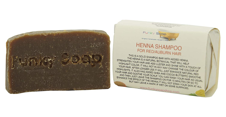 Handcrafted Red Henna Shampoo Bar 65g