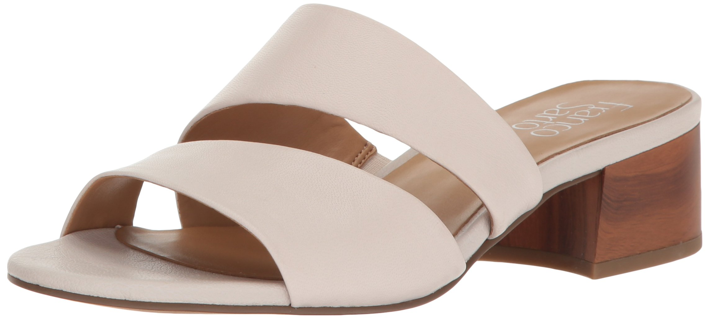Franco Sarto Women's Tallen Heeled Sandal, White, 9 Medium US