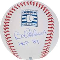 $143 » Bob Gibson St. Louis Cardinals Autographed Hall of Fame Logo Baseball with HOF 81 Inscription - Fanatics Authentic Certified