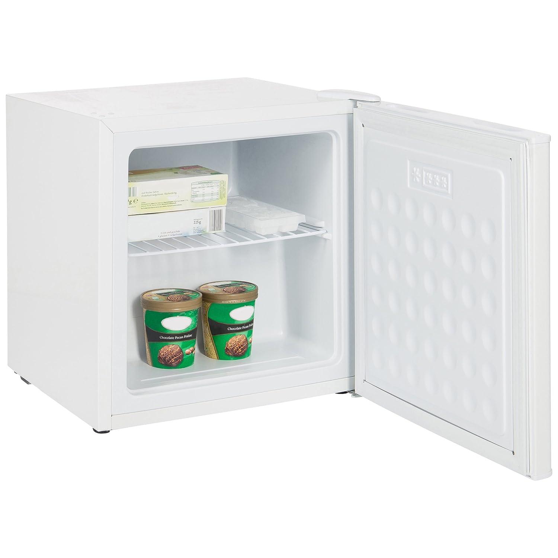 Ultratec Mini Gefrierschrank, 32 Liter, als Gefrierbox fü r Ferienwohnung, Camping, Bü ro oder Teekü che, Tiefkü hlschrank freistehend und stromsparend, Eisschrank mit Energieeffizienzklasse A+ 331400000131