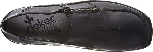 Rieker Damen L1780-16 Obermaterial Leder Slipper
