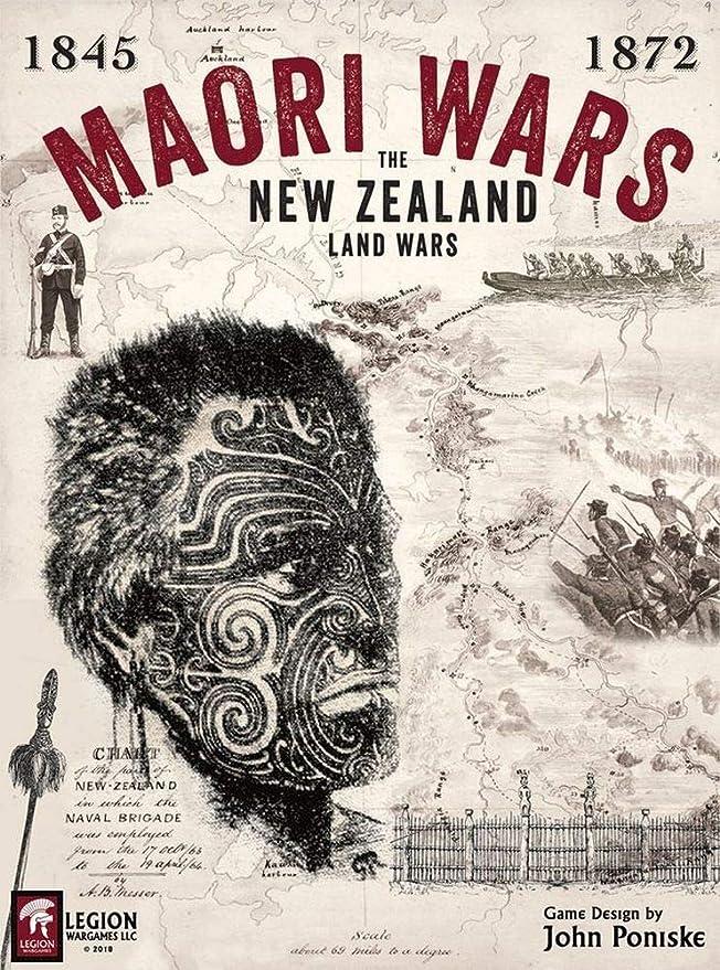 Strategic Wargame Maori Wars - The New Zealand Land Wars 1845 ...