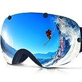 Amazon Price History for:Zionor Lagopus Snowmobile Snowboard Skate Ski Goggles with Detachable Lens