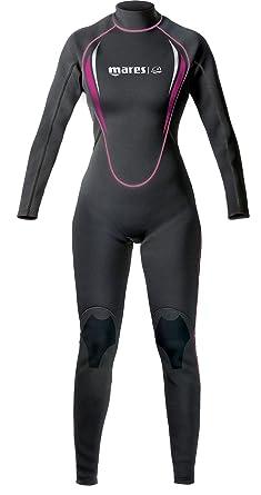 Mares Steamer Manta - Traje de buceo para mujer, color negro ...