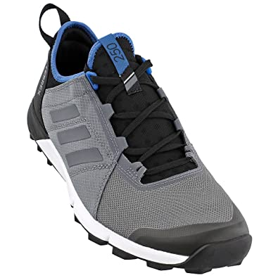 a47574387b93c Adidas Outdoor Men s Terrex Agravic Speed Trail Running Shoe Vista Grey  Vista Grey Core Blue