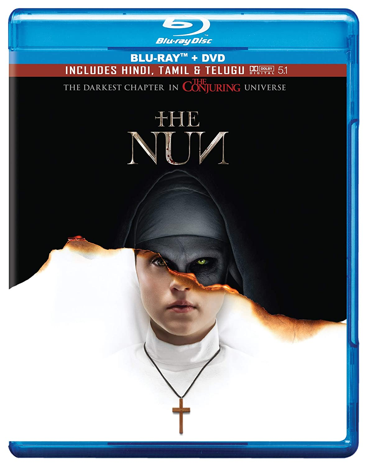 Amazon.in: Buy The Nun (Blu-ray + DVD) DVD, Blu-ray Online at Best Prices  in India | Movies & TV Shows