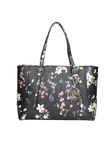 b192382c8432db Guess Shopper Blumen HWISAFP6404 Black Multi: Amazon.de: Schuhe ...