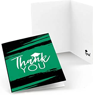 product image for Green Grad - Best is Yet to Come - Green Graduation Party Thank You Cards (8 Count)