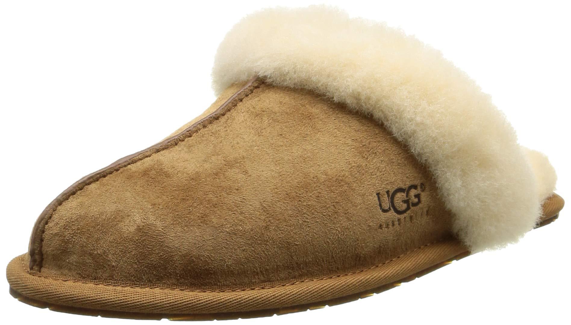 UGG Women's Scuffette II Scuff Slipper,Chestnut,9 US/9 B US