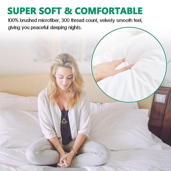 Amazon.com: Sunnest King Size Pillow Cases Set of 2 (20