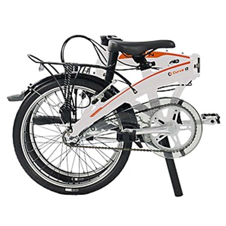 Dahon Faltrad CURVE i3 3 Gang Frost Weiß 20 Zoll Klapp Fahrrad Faltrahmen Aluminium Herren Damen, 879163: Amazon.es: Deportes y aire libre