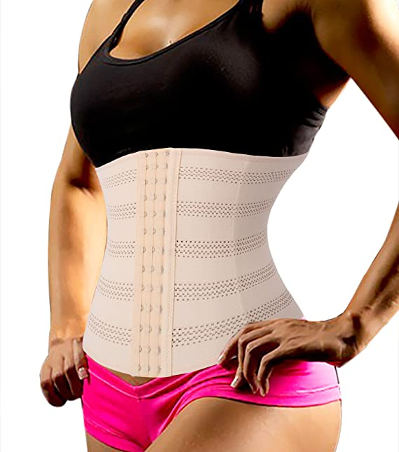 74ce842a118 Chumian Plus Size Long Torso Waist Trainer Fitness Body Shaper for  Hourglass  Amazon.co.uk  Clothing