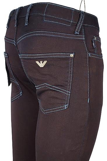 49030ac4f1d3 Emporio Armani Jeans Stretch Cotton with Contrast Stitch 6Z1J10 1D0PZ (34