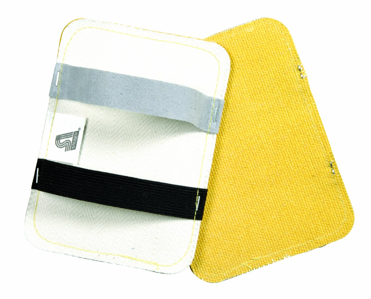 Steiner 15A76PA Inch Double Layer Back Hand Pad, Aluminized Layer Protected By Goldenglass, 5.5-Inch x 7.5-Inch (2-Pack)