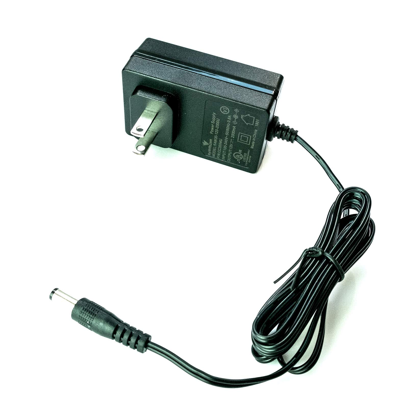 12V Black and Decker BDN12 H1 Drill replacement power supply adaptor - US plug