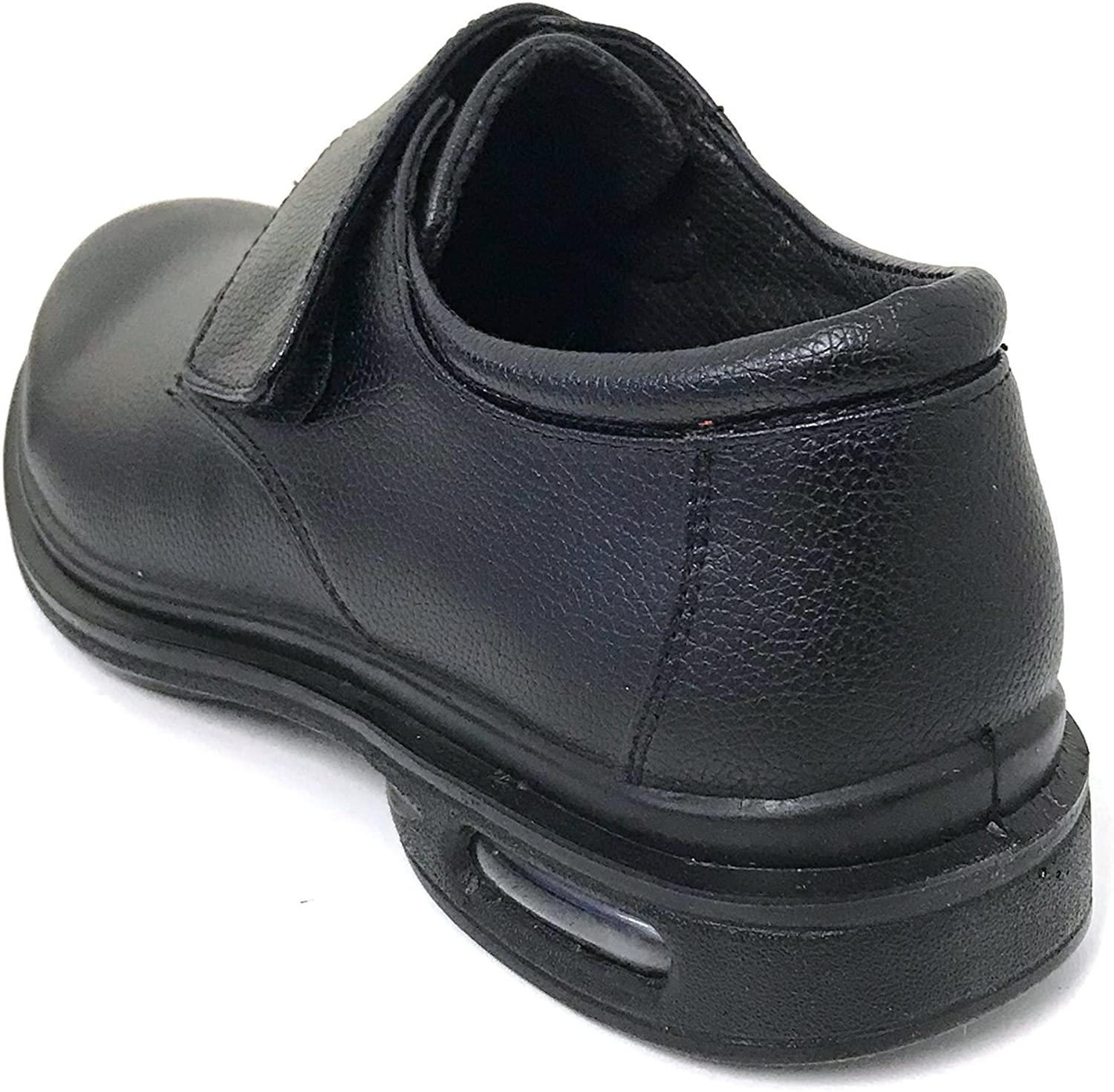 G4U-XCL AK03S Mens Comfort Work Shoe Slip and Oil Resistant Restaurant Air Cushion Loafers