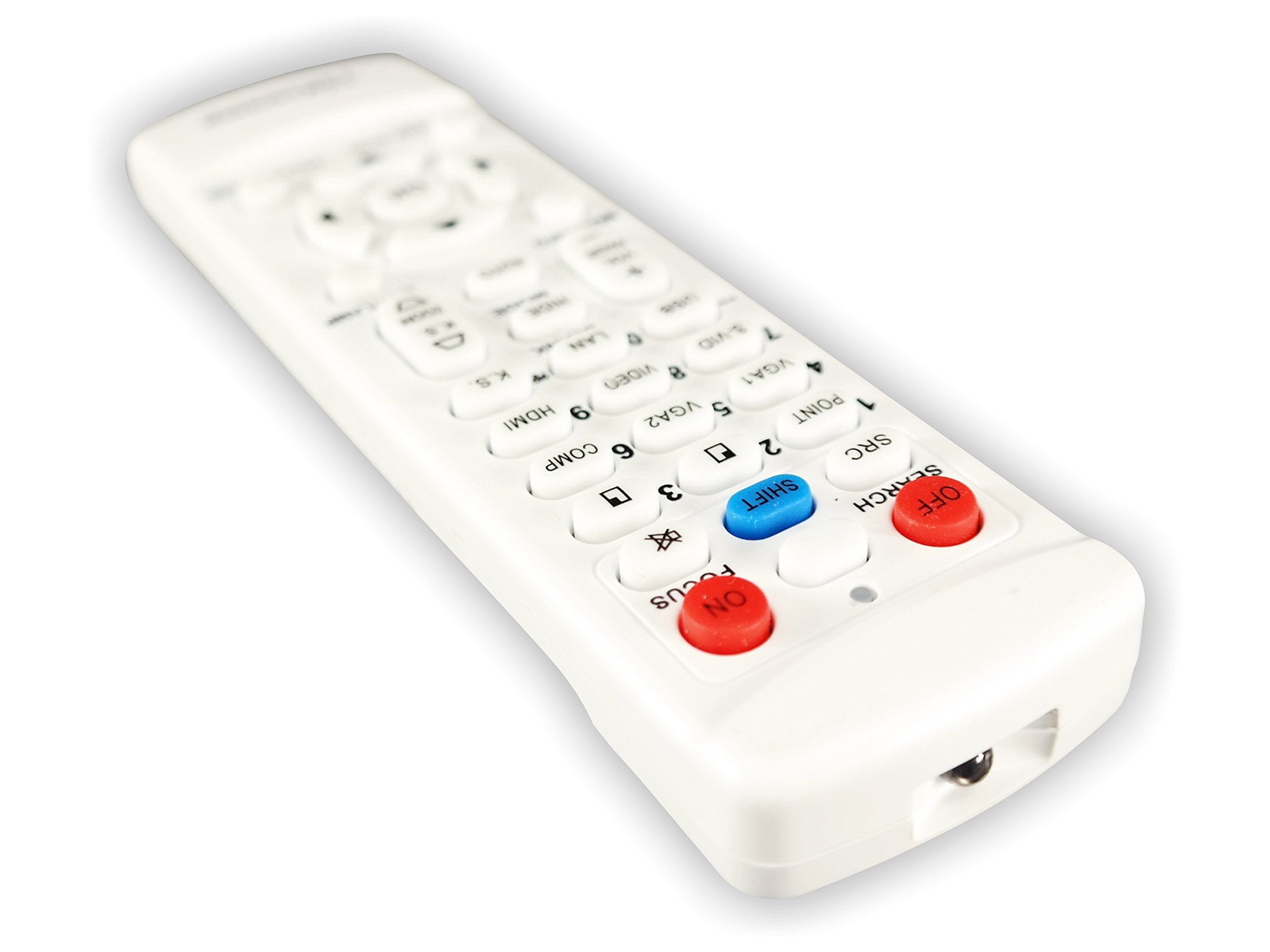 BenQ MH530 TeKswamp Video Projector Remote Control (White) by Tekswamp (Image #3)