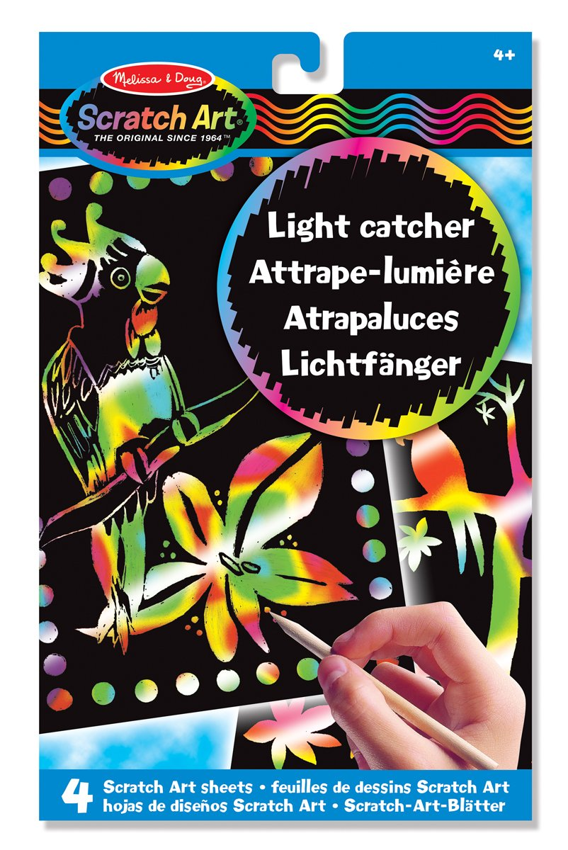 Melissa & Doug Scratch Art Light Catcher Sheets 15800